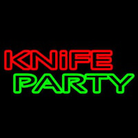 Knife Party 1 Enseigne Néon
