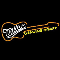 Miller Country Guitar Beer Sign Enseigne Néon