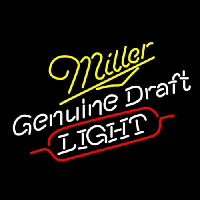 Miller Genuine Draft Light Enseigne Néon