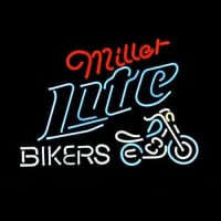 Miller Lite Bike Bikers Bicycle Logo Enseigne Néon