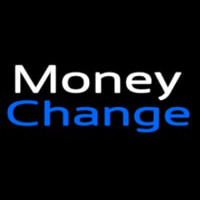 Money Change Enseigne Néon