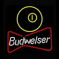 NEW Budweiser Pool Bowtie Beer Light Enseigne Néon