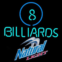 Natural Light Ball Billiards Pool Beer Sign Enseigne Néon