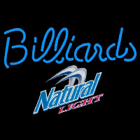 Natural Light Billiards Te t Pool Beer Sign Enseigne Néon