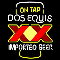 On Tap Dos Equis Beer Sign Enseigne Néon