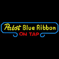 Pabst Blue Ribbon On Tap Beer Sign Enseigne Néon