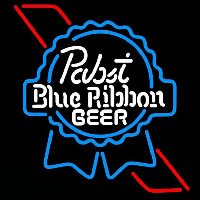 Pabst Skyblue Red Ribbon Beer Sign Enseigne Néon