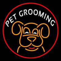 Pet Grooming Phone Number 1 Enseigne Néon
