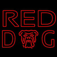 Red Dog Beer Sign Enseigne Néon