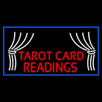 Red Tarot Card Readings Enseigne Néon