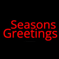 Seasons Greetings Enseigne Néon