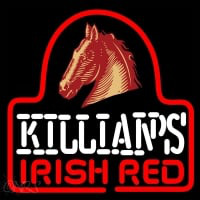 Sgeorge Killians Irish Red Horse Head Beer Sign Enseigne Néon