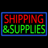Shipping And Supplies Enseigne Néon