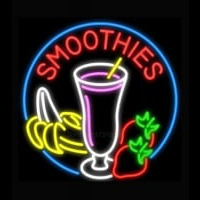 Smoothies with Fruit Enseigne Néon