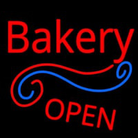 Stylish Bakery Open Enseigne Néon