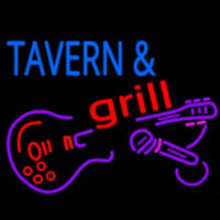Tavern And Grill Guitar Enseigne Néon