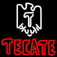 Tecate Eagle Logo Beer Sign Enseigne Néon