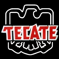 Tecate Eagle Print Logo Beer Sign Enseigne Néon