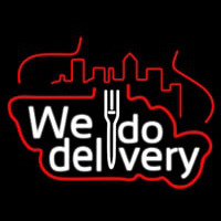 We Do Delivery Enseigne Néon