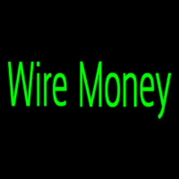 Wire Money Enseigne Néon