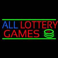All Lottery Games Enseigne Néon