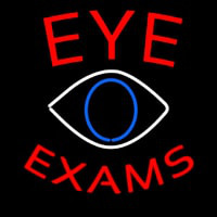 Eye E ams With Eye Logo Enseigne Néon